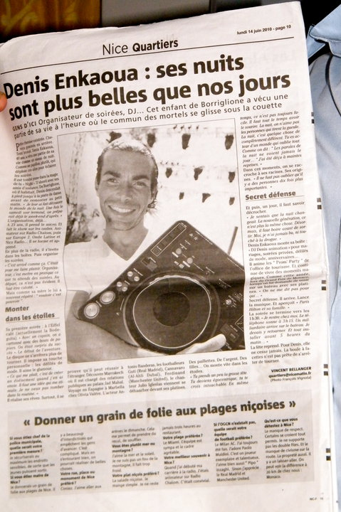 interview nice matin 14 juin 2010