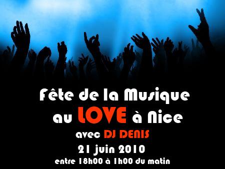 fête de la musique au love à Nice