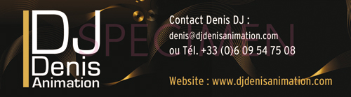 DJ Denis Contact Infos